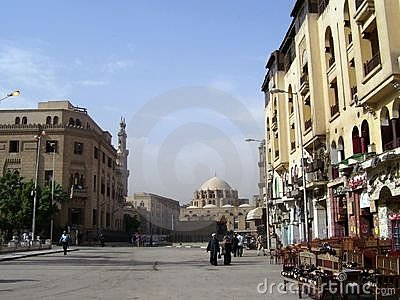 Street of cairo Editorial Stock Photo