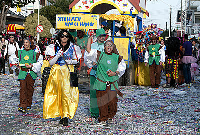 Street carnival parade Editorial Image