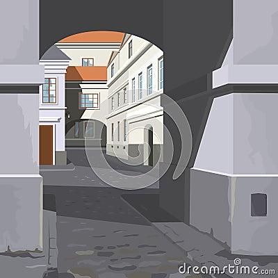 Street of city