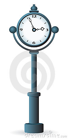 Street clock.