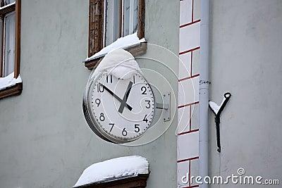 Street clock