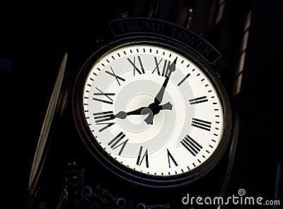 The street clock