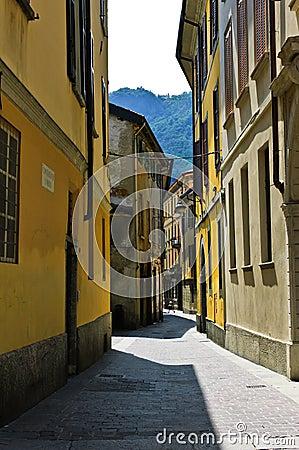 Street of Como