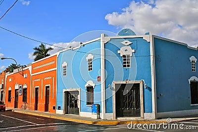 Street Corner, Merida, Mexico