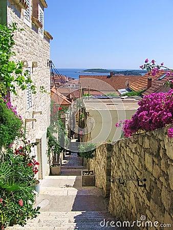 Street at Croatia