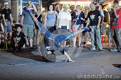 Street Dance Editorial Stock Photo
