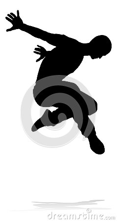 Free Street Dance Dancer Silhouette Royalty Free Stock Photography - 123880427