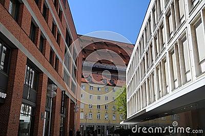 Street in downtown Munich