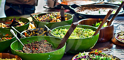 Street food: african kitchen