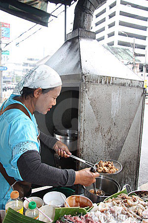 Street food in Thailand Editorial Image