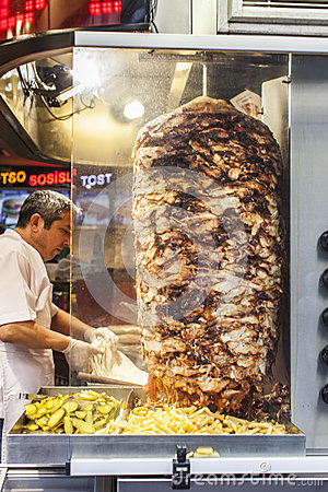 Street food: turkish kitchen Editorial Photo