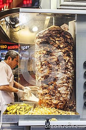 Street food: turkish kitchen Editorial Photo