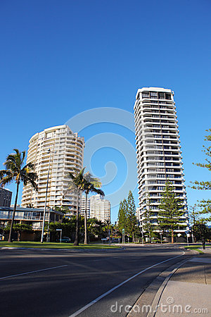 Gold beach city street