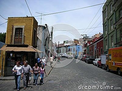Street Editorial Stock Photo