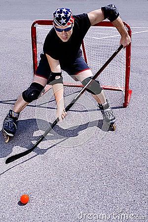 Street hockey #3