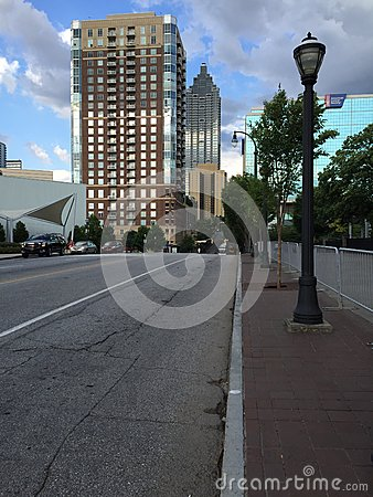 Free Street In Atlanta Royalty Free Stock Images - 78334919