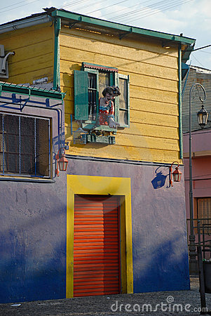 Free Street In Buenos Aires, Argentina. Stock Image - 6691491