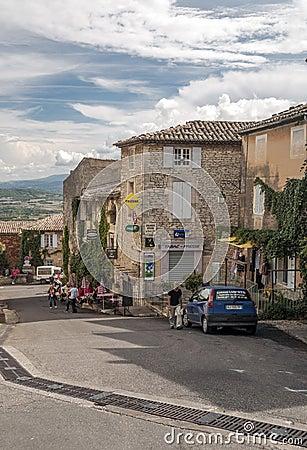Free Street In Gordes Stock Photo - 48696700