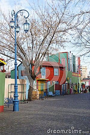 Free Street In La Boca Royalty Free Stock Photography - 11041187