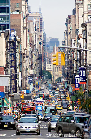Free Street In New York. Royalty Free Stock Photo - 6935615