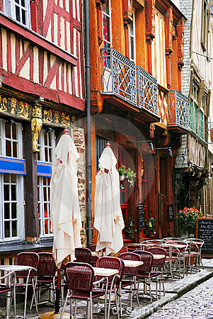 Free Street In Rennes Royalty Free Stock Photo - 3023115