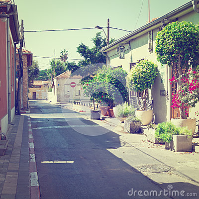 Free Street In Tel Aviv Stock Photography - 84394012
