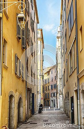 Free Street In Toulon Stock Photo - 128558090