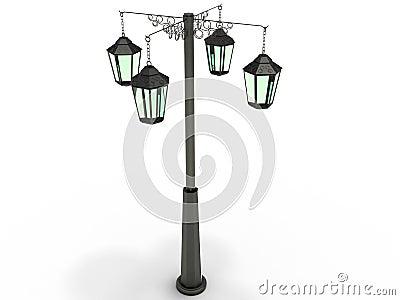 Street lamp №2