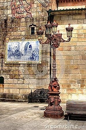 Street lamp in Ponte de Lima