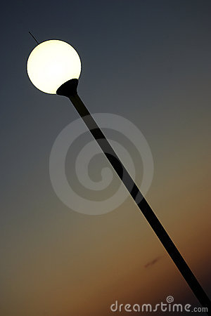 Free Street Lamp Royalty Free Stock Photo - 3548255