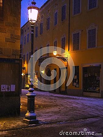 Street lamp 4