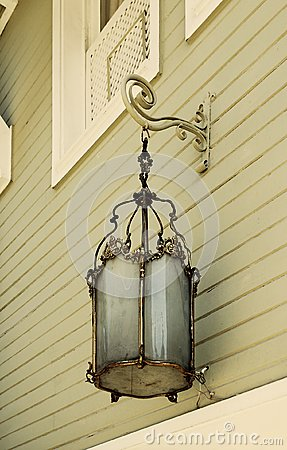 Street lamp - old