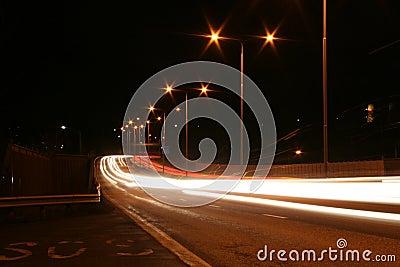 Street of light