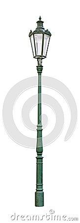 Free Street Light Green Cutout Stock Image - 9962621
