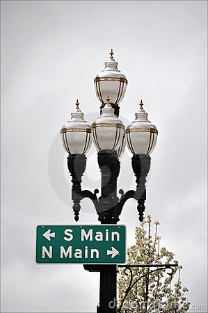 Free Street Lights Royalty Free Stock Photography - 9955647