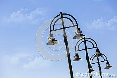 Street Lights Stock Photo Image 39414207