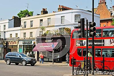 Street in London Editorial Photo