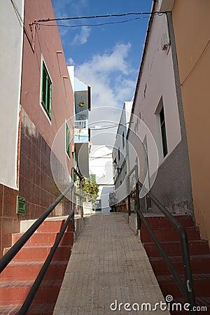 Street of Los Gigantes, Tenerife