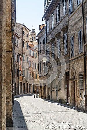 Street of Macerata