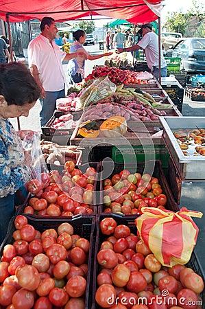 Free Street Market In Tres Rios, Costa Rica Stock Photography - 18264992