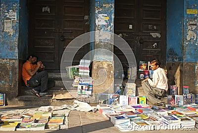 street market India Editorial Photo