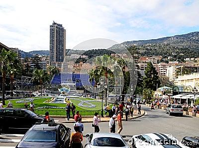 Street of Monaco Editorial Photo