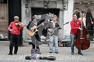 Street music Editorial Photo