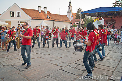 Street music entertainers Editorial Photography
