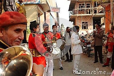 Street musicians Editorial Photo