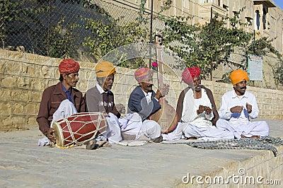 Street musicians Editorial Stock Photo