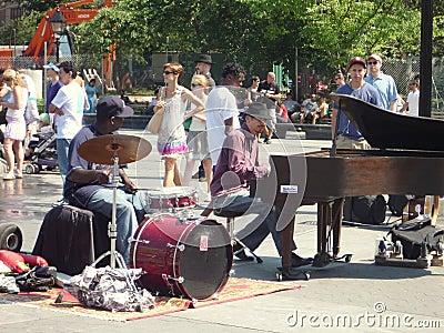 Street Musicians Editorial Image