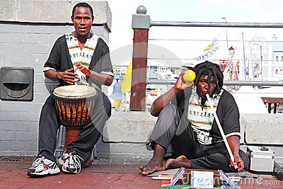 Street musicians Editorial Stock Photo