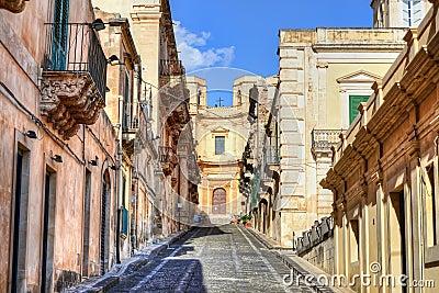 Street in Noto