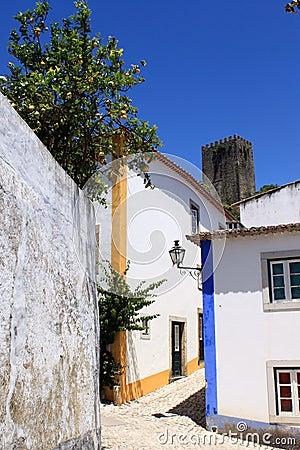 Street of Obidos
